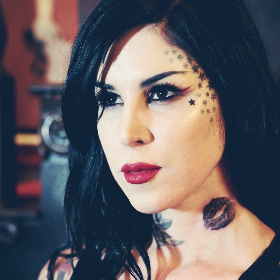 Kat Von D by Cristina Damura Girl tattoos, Kat von d
