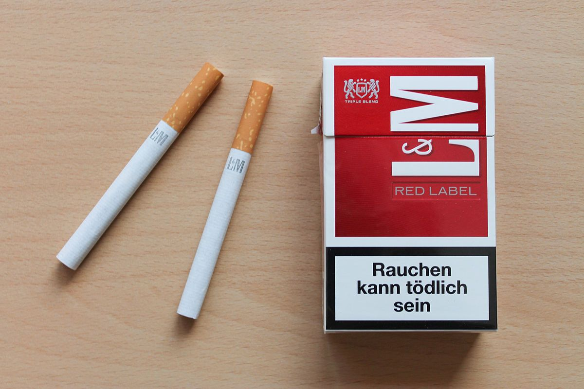 Price of cigarettes LM in Europe