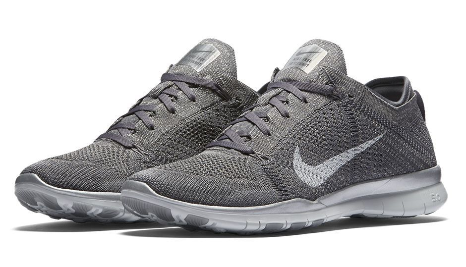 uk availability fe20c c7af9 cheap nike womens free flyknit tr 5.0 training shoes dark grey metallic  silver bing images 96a47