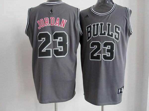 ac79680ed nba all star game jerseys cheap nba jerseys youth. Men s NBA Chicago Bulls  23  Michael Jordan Grey Jersey