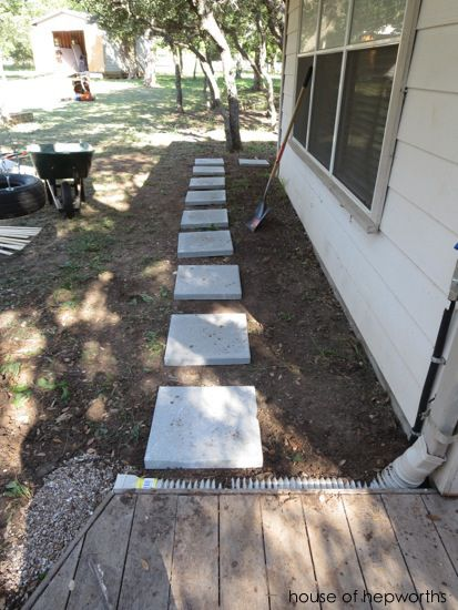 How To Lay A Paver Walkway Diy