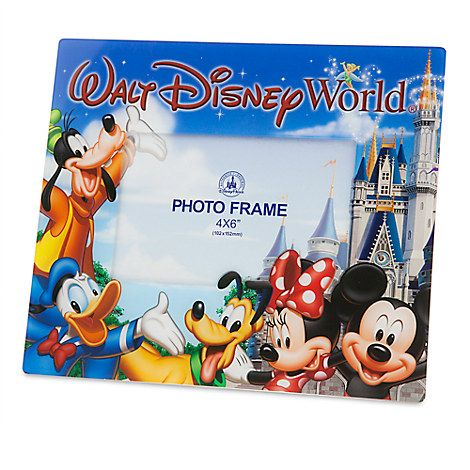 mickey mouse and friends photo frame walt disney world 4 - Disney Photo Frame