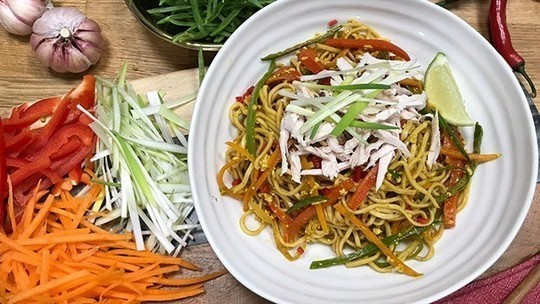 Gok's store cupboard Singapore noodles | Food | This ...
