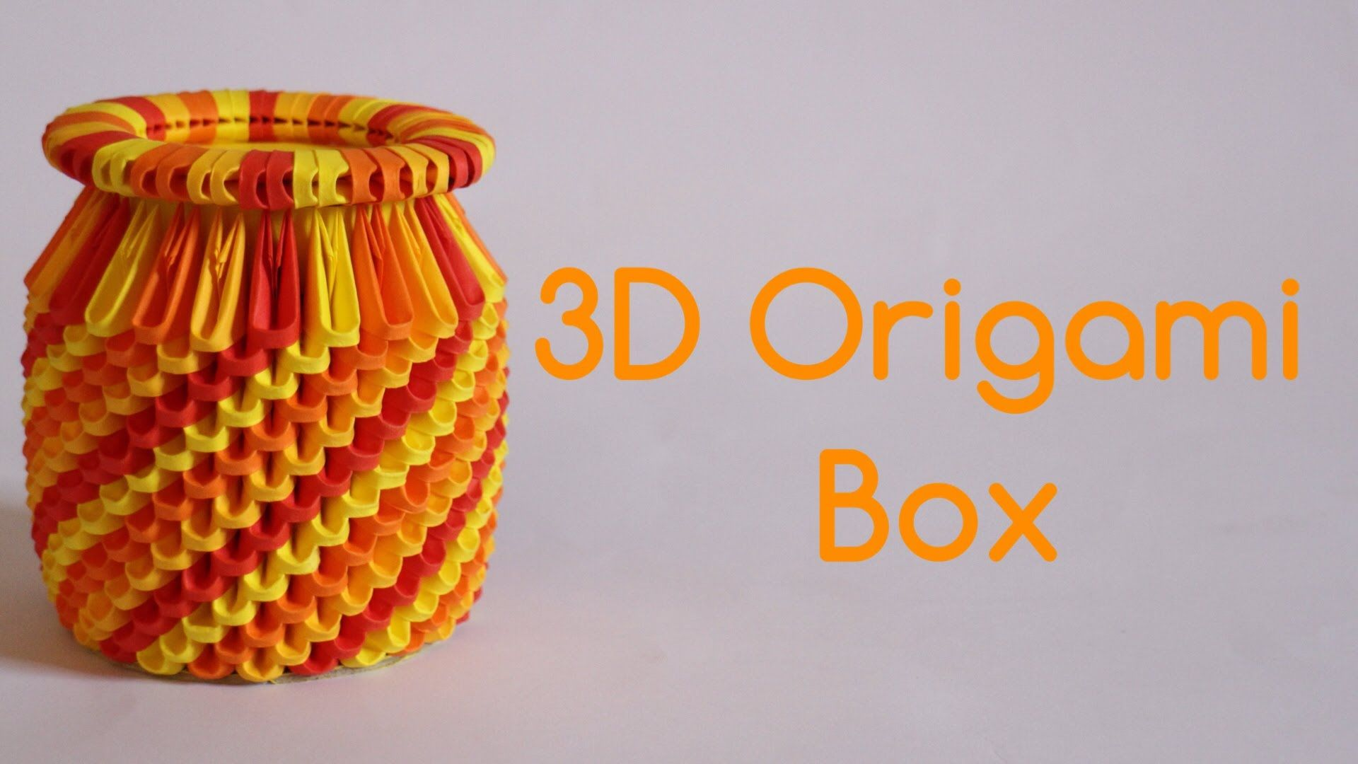 How to 3d origami box model 3 origami pinterest 3d how to 3d origami box model 3 jeuxipadfo Gallery