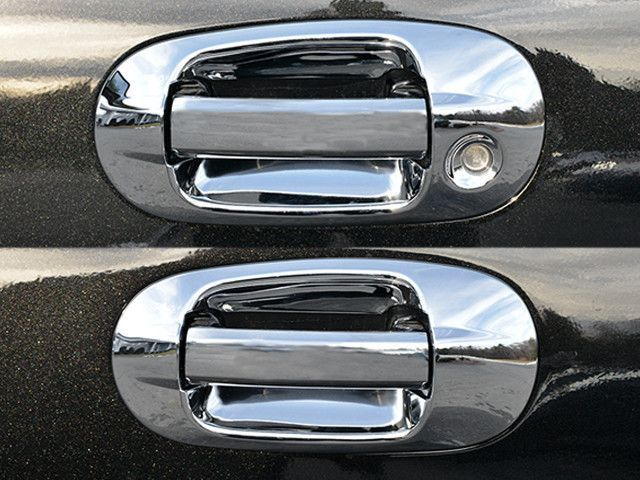 Expedition 2003 2015 Ford Navigator 2003 2015 Lincoln 4pc Door Handle Cover Kit Does Not Include Pull Handle Tr Ford Expedition Chrome Door Handles Ford
