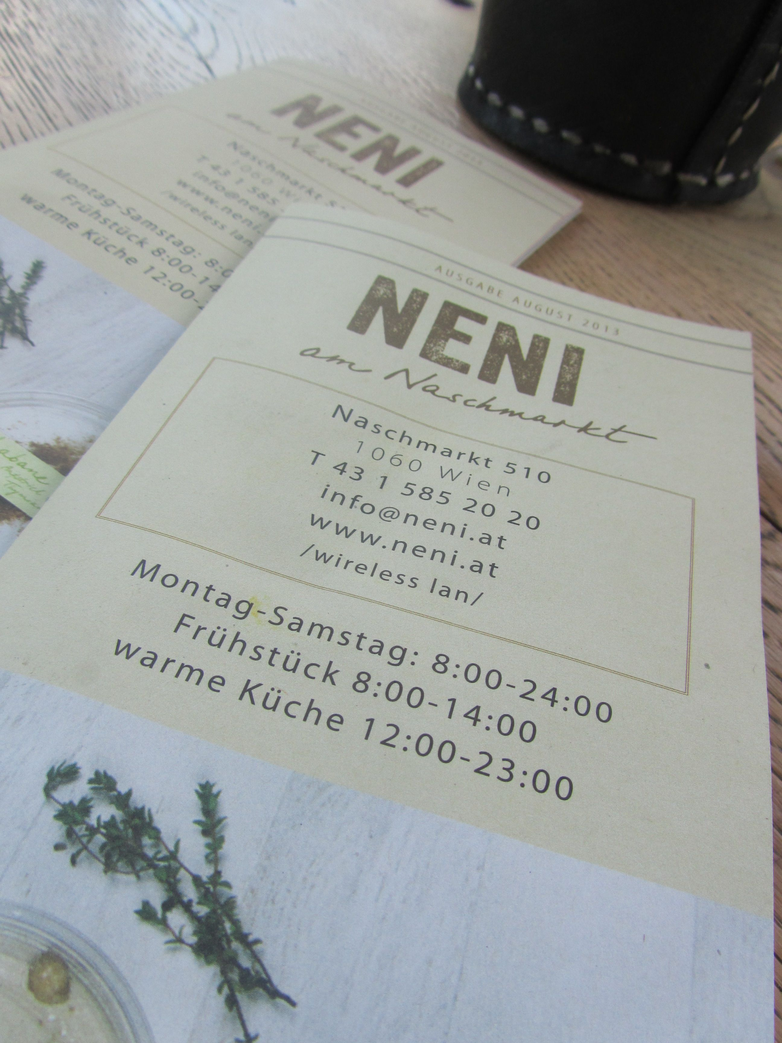 Neni, owned by Haya Molcho, serves Israeli food. This lady is really ...