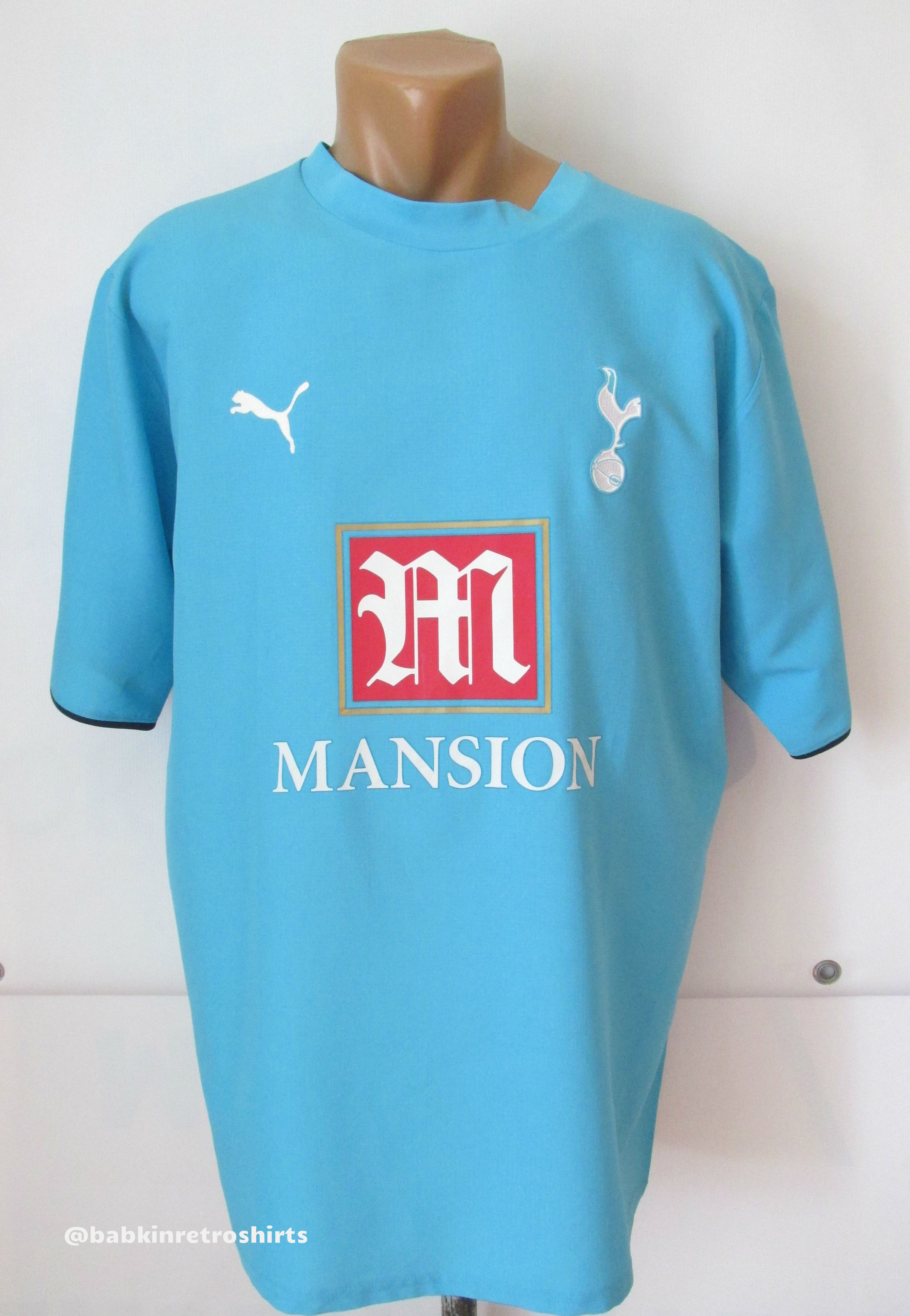 new products b38b0 9ef88 Tottenham Hotspur 2006/2007 away football shirt by Puma ...