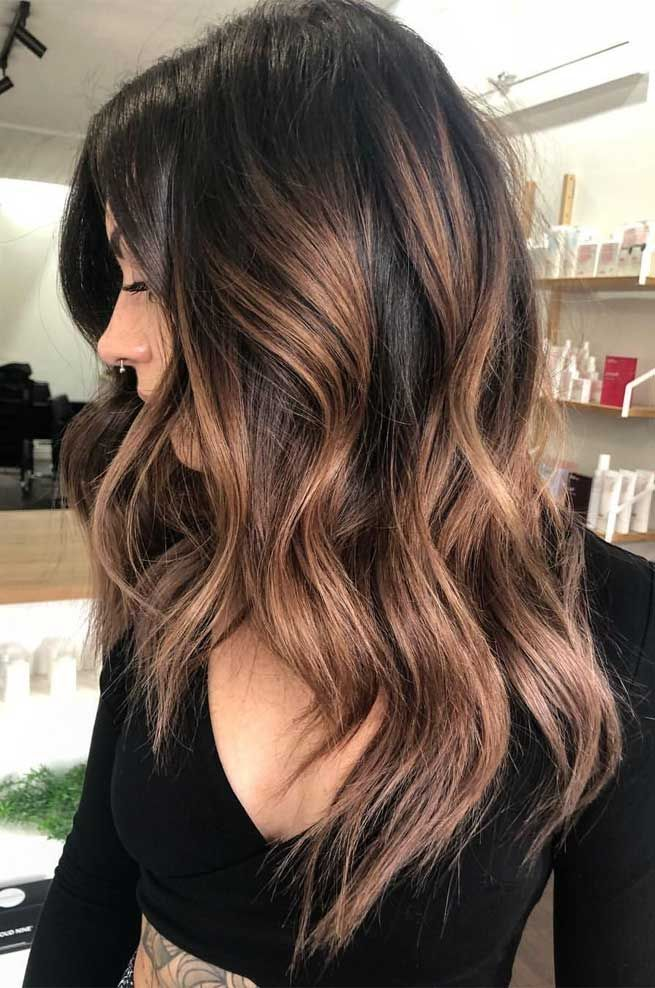 51 Gorgeous Hair Color Worth To Try This Season #fallhaircolorforbrunettes