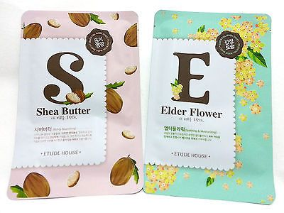 Mask pack Mask sheet Shea Butter Mask pack / Elder Flower Mask pack ETUDE HOUSE