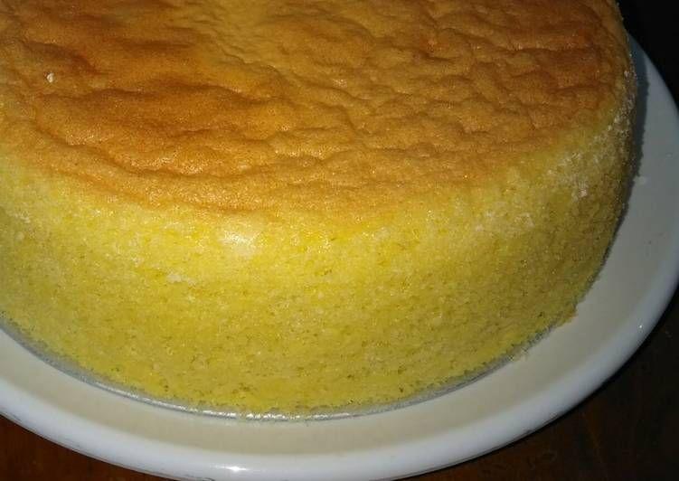 Japanese Sponge Cake Kue Spons Jepang Sponge Cake Food Cake