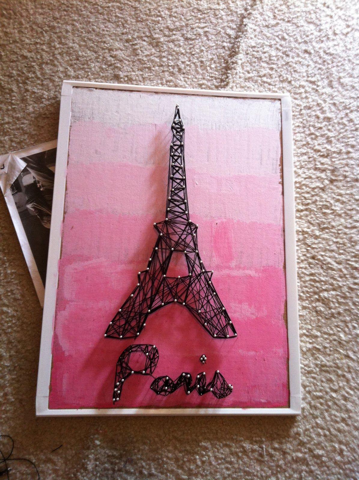 Eiffel tower string art 35 diy string art patterns teen 2017 cslp summer reading program ideas