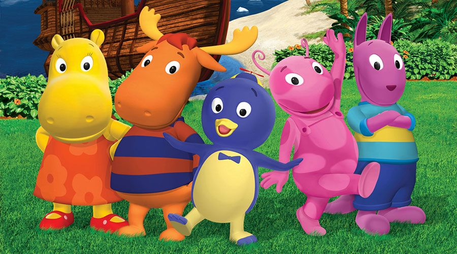 Backyard Nickelodeon pablo, tyronne, yuniqua, tasha and austin - #thebackyardigans on