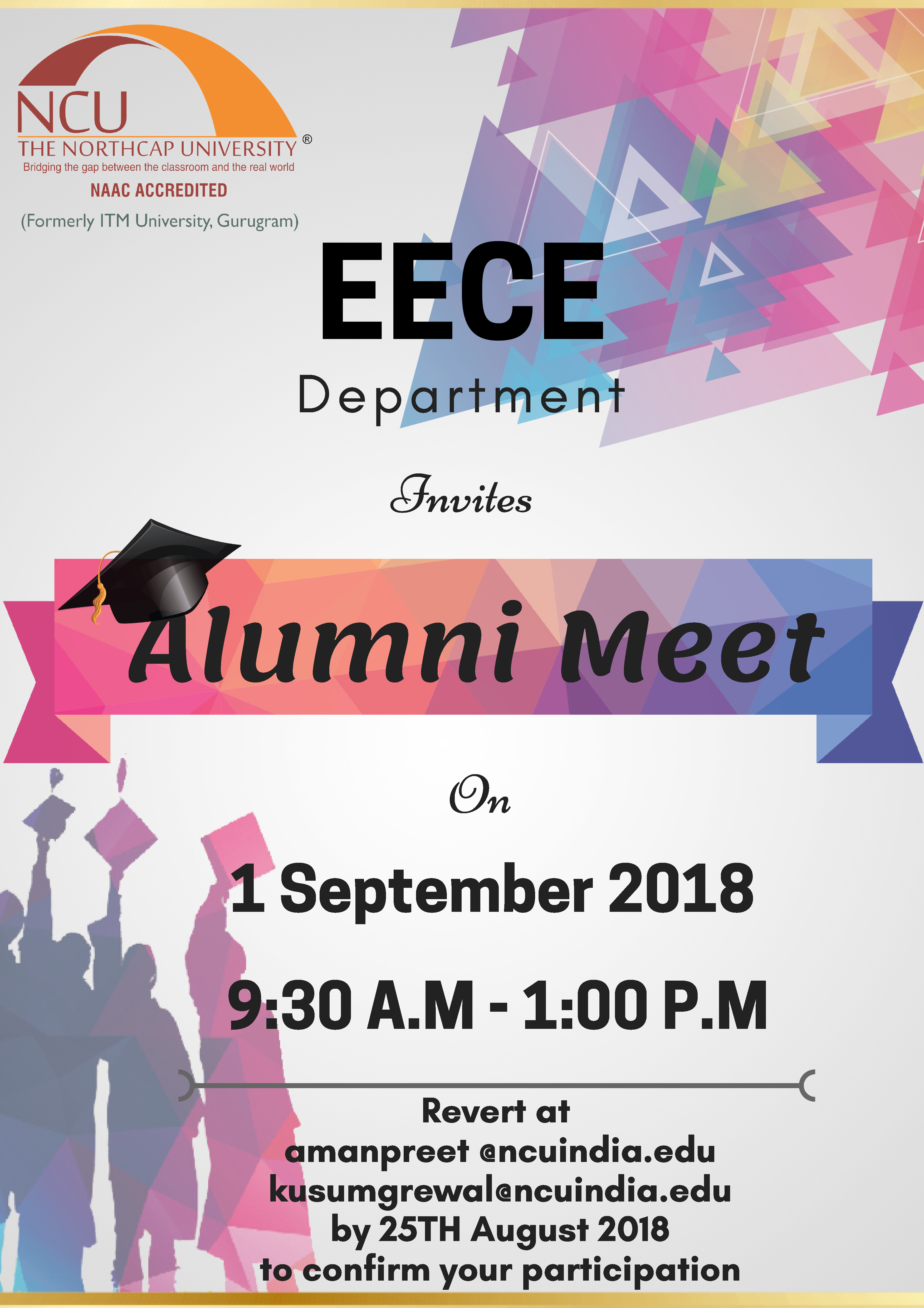Thenorthcapuniversity S Eece Department Invites All Its Lovely