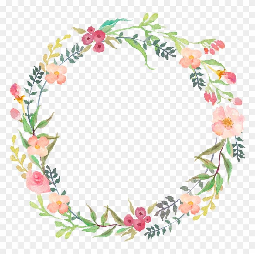 Download And Share Clipart About Imagem Watercolor Wreath Flower Png Find More High Quality Free Watercolor Flower Wreath Wreath Clip Art Wreath Watercolor