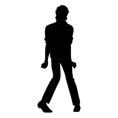 Michael Jackson silhouette | Chalk the streets | Pinterest ...
