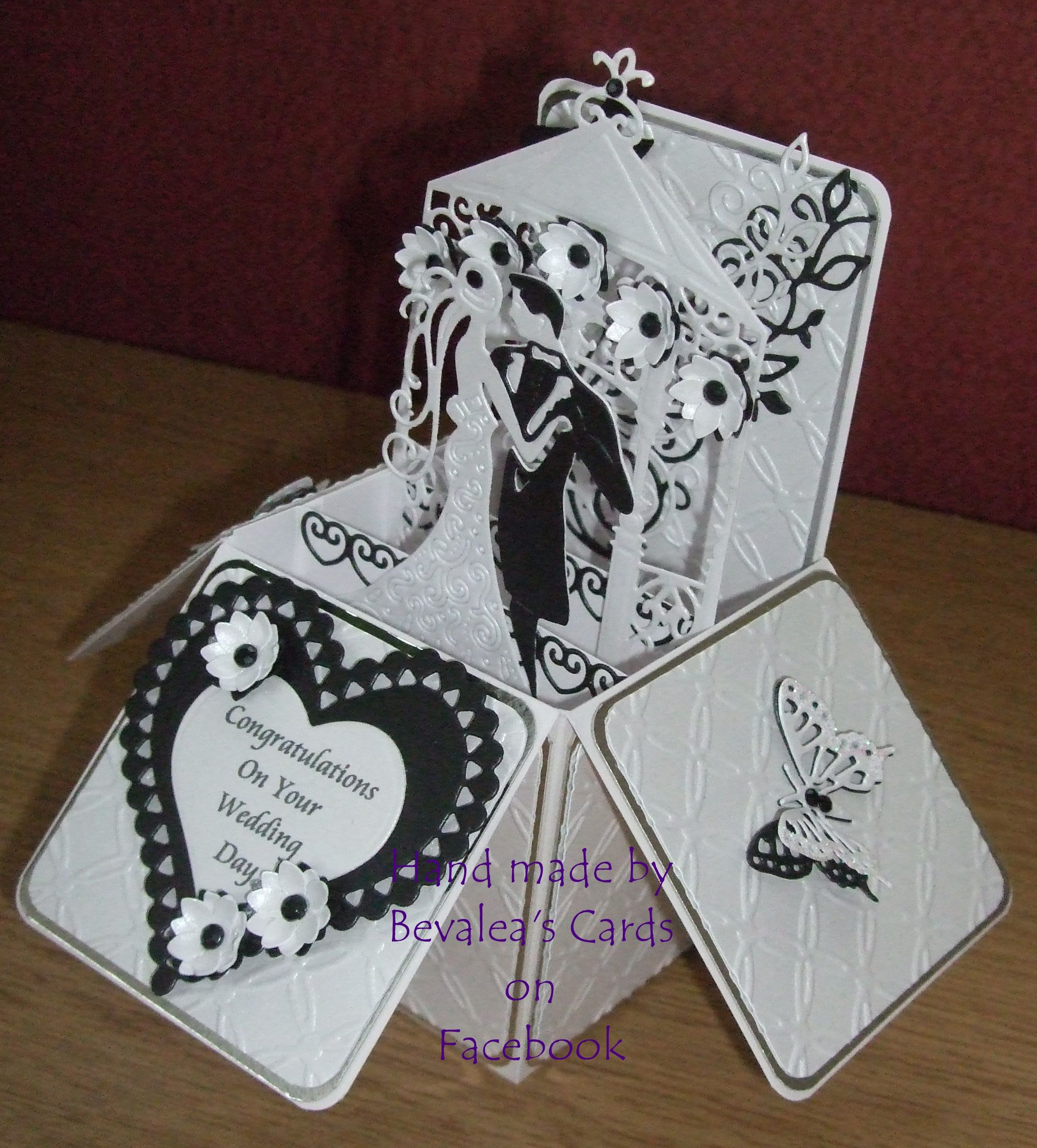 wedding popup box using spellbinders and tattered lace dies widescreen diy pop up invitations of androids high resolution