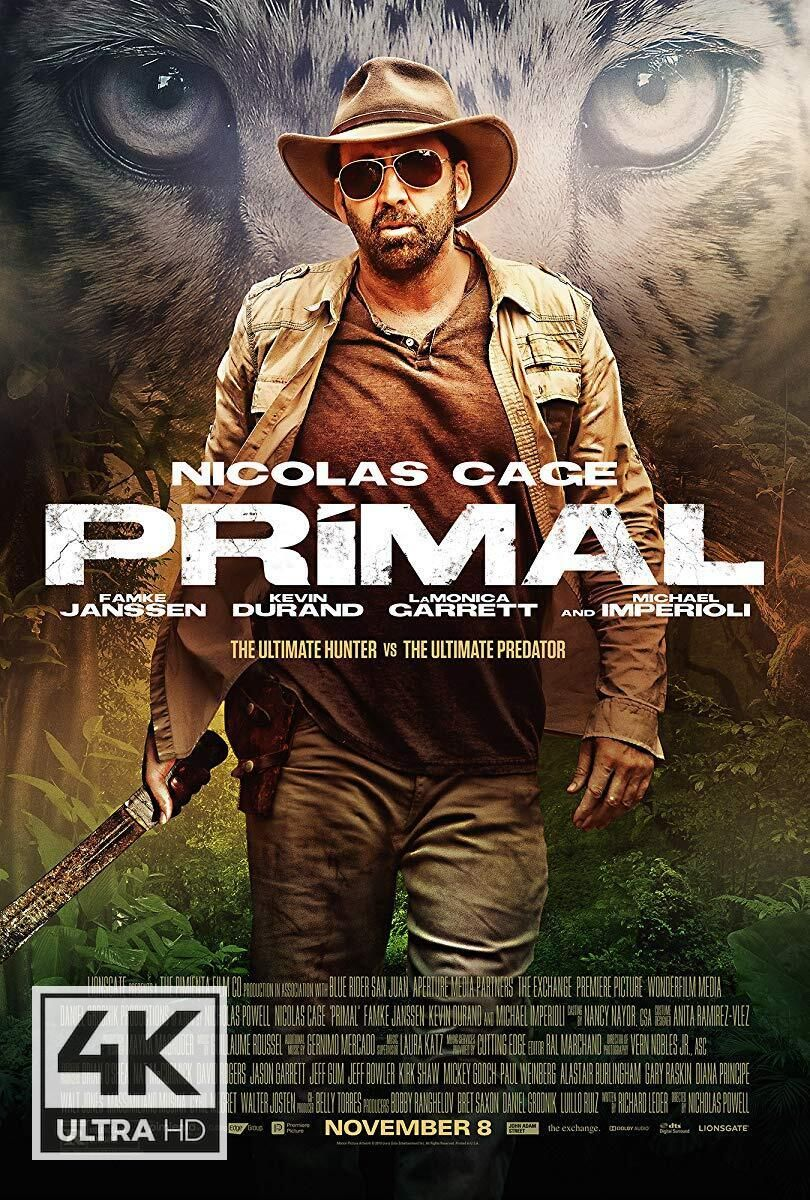 4k Ultra Hd Primal 2019 Watch Download Primal 2019 Watch