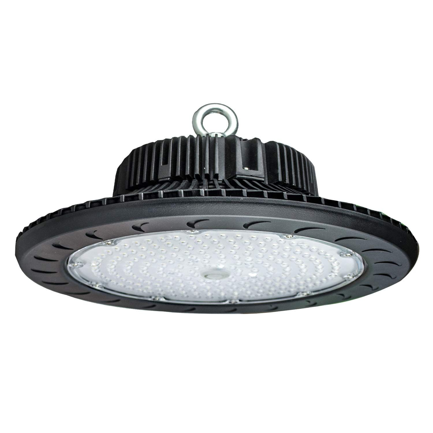 Led High Bay Light 150w 5500k Daylight White Color 500 600w Hps Equivalent For Commercial And Industrial Light In 2020 Bay Lights High Bay Lighting Factory Lighting