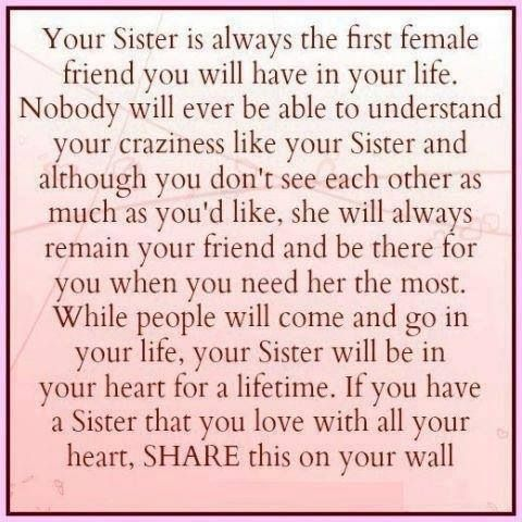 Meaningful Sister Quotes Love this sister quote |