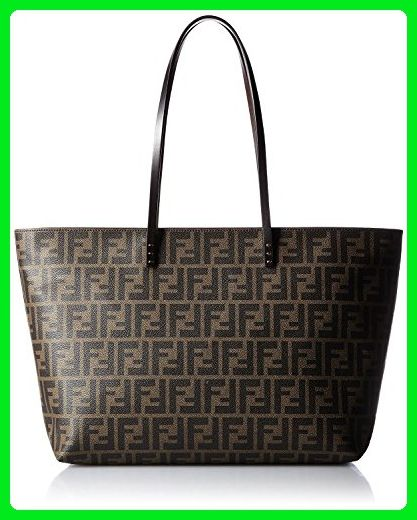 e43b1acfda51 FENDI Zucca pattern 8BH185-00G87   F0QT2 Leather Tote Bag - Wallets  ( Amazon Partner-Link)