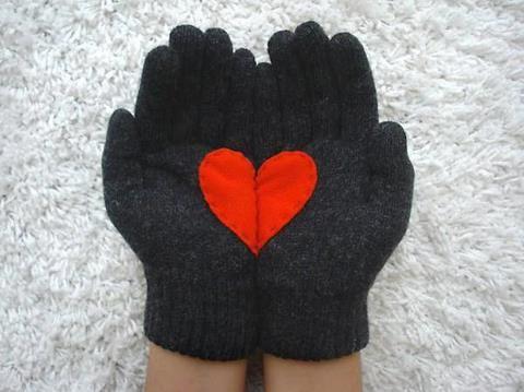 il cuore...nei guanti