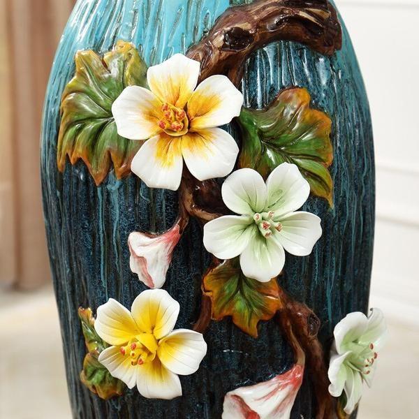 Photo of European Pastoral Floor Flower Vase