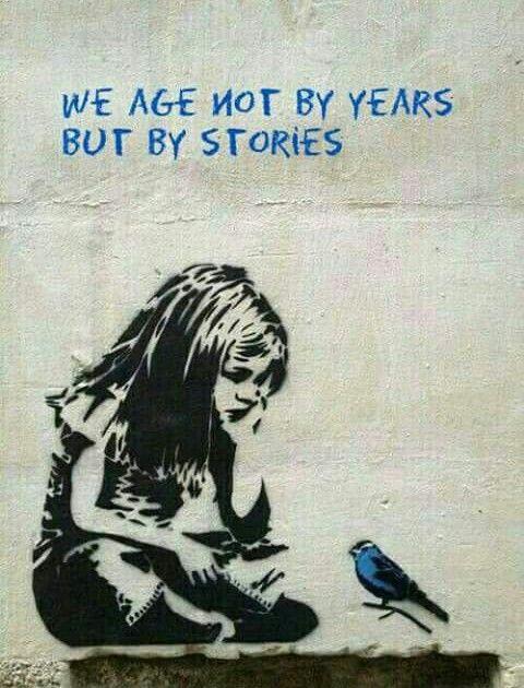 No Envejecemos Por Años Sino Por Historias De Banksy