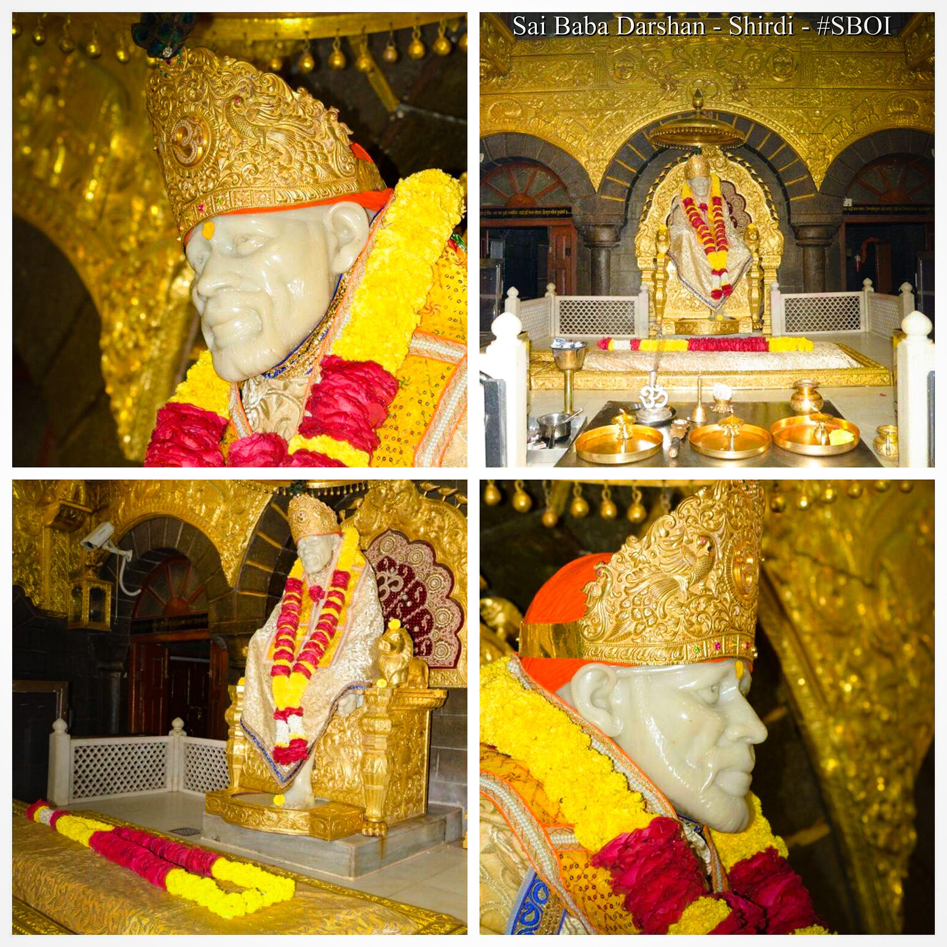 Sai Baba Darshan Today from Shirdi Samadhi Mandir - 7/1/2018