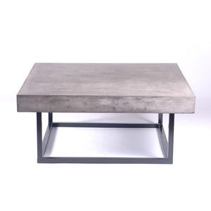 Miami Square Coffee Table 649 Now Featured On Fab Urbia Chic Concrete Furniture Share On Twittershare O Coffee Table Solid Coffee Table Coffee Table Square