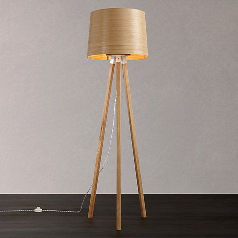 Tom Raffield Helix Floor Lamp Oak Floor Lamp Lamp Oak