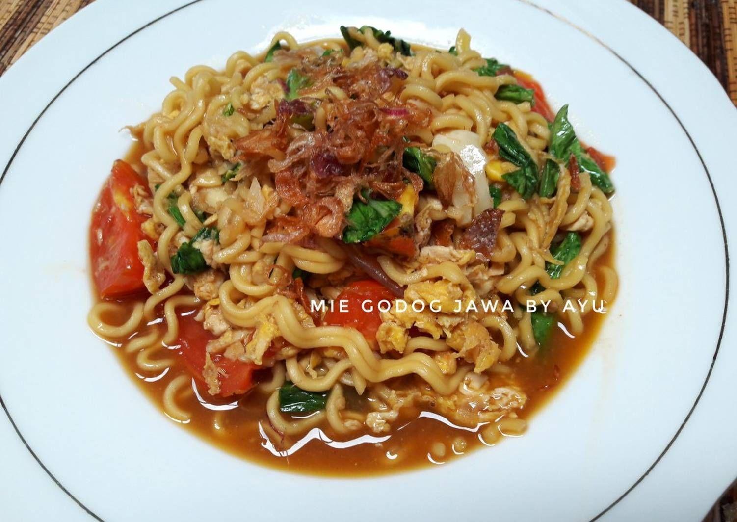 Resep Mie Godog Jawa No Vitsin Oleh Ayuanita Petrisia Resep Resep Masakan Resep Resep Makanan Cina