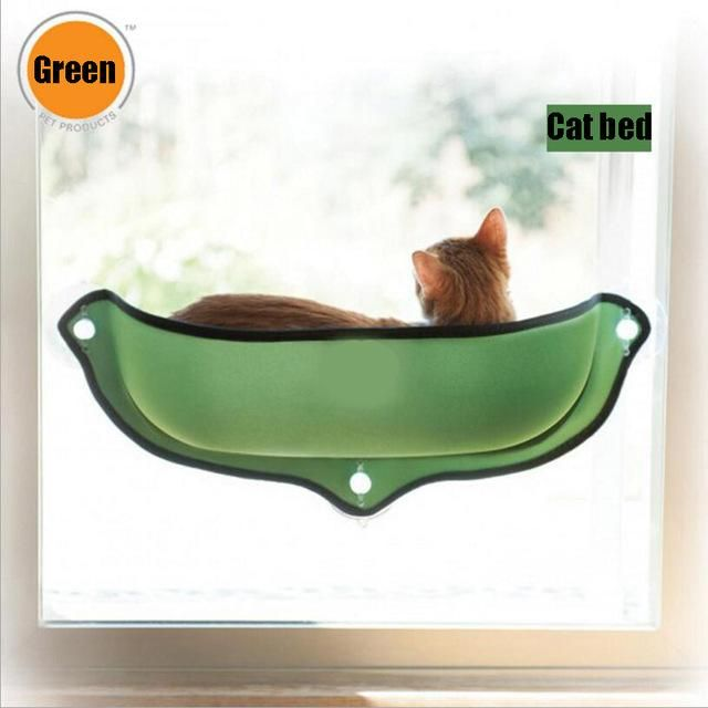 Cat Window Bed Cat Lounger Bed Hammock Sofa Mat Lounger Perch Cushion Hanging Shelf Seat With Suction Cup For Ferret Chinchilla Cat Beds & Mats Pet Products