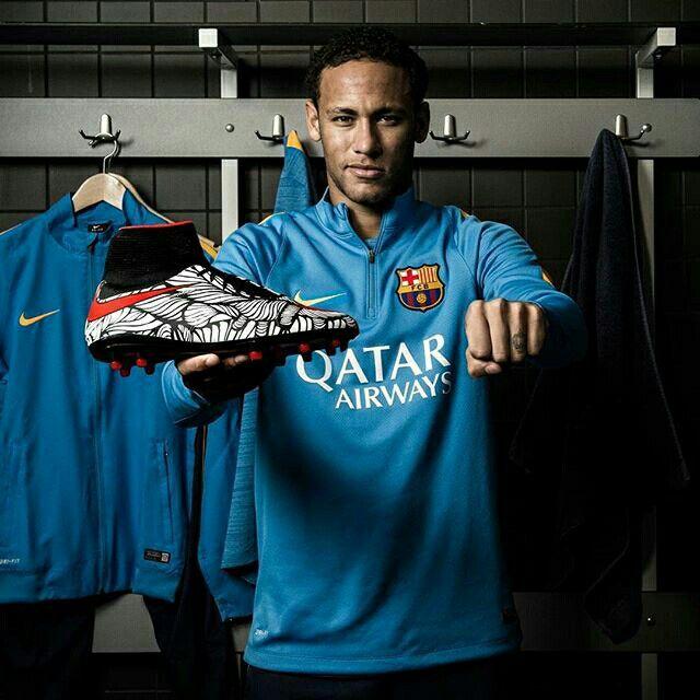 Nike Unveils Cleats For Neymar Jr. Designed By Artist Bruno Big