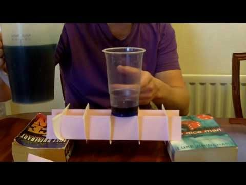 Corrrugating Paper For The UK 2010 Bridge Competition