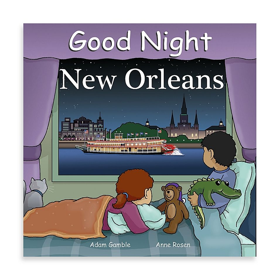 Good Night Board Book In New Orleans In 2020