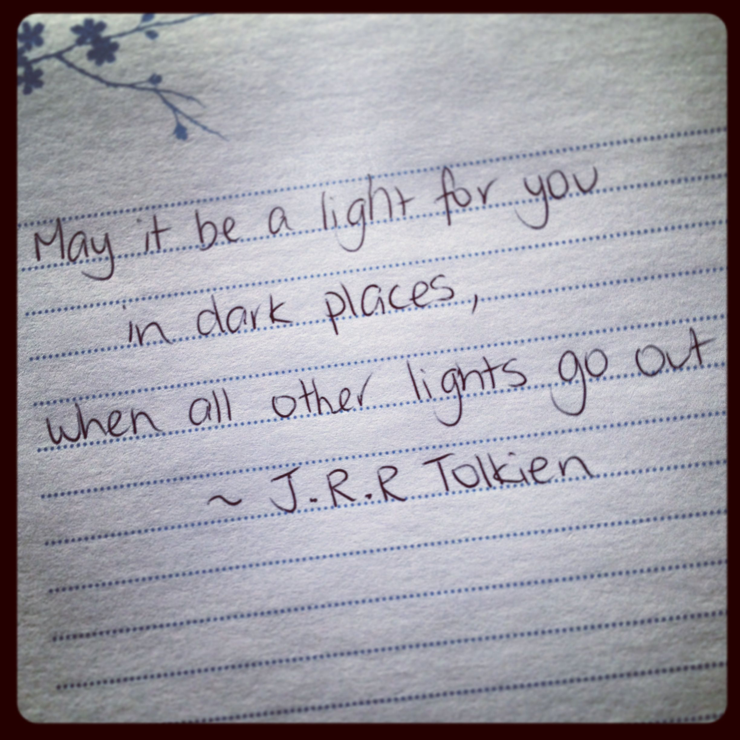 Superbe Galadriel Quote To Frodo From Lord Of The Rings By J.R.R Tolkien