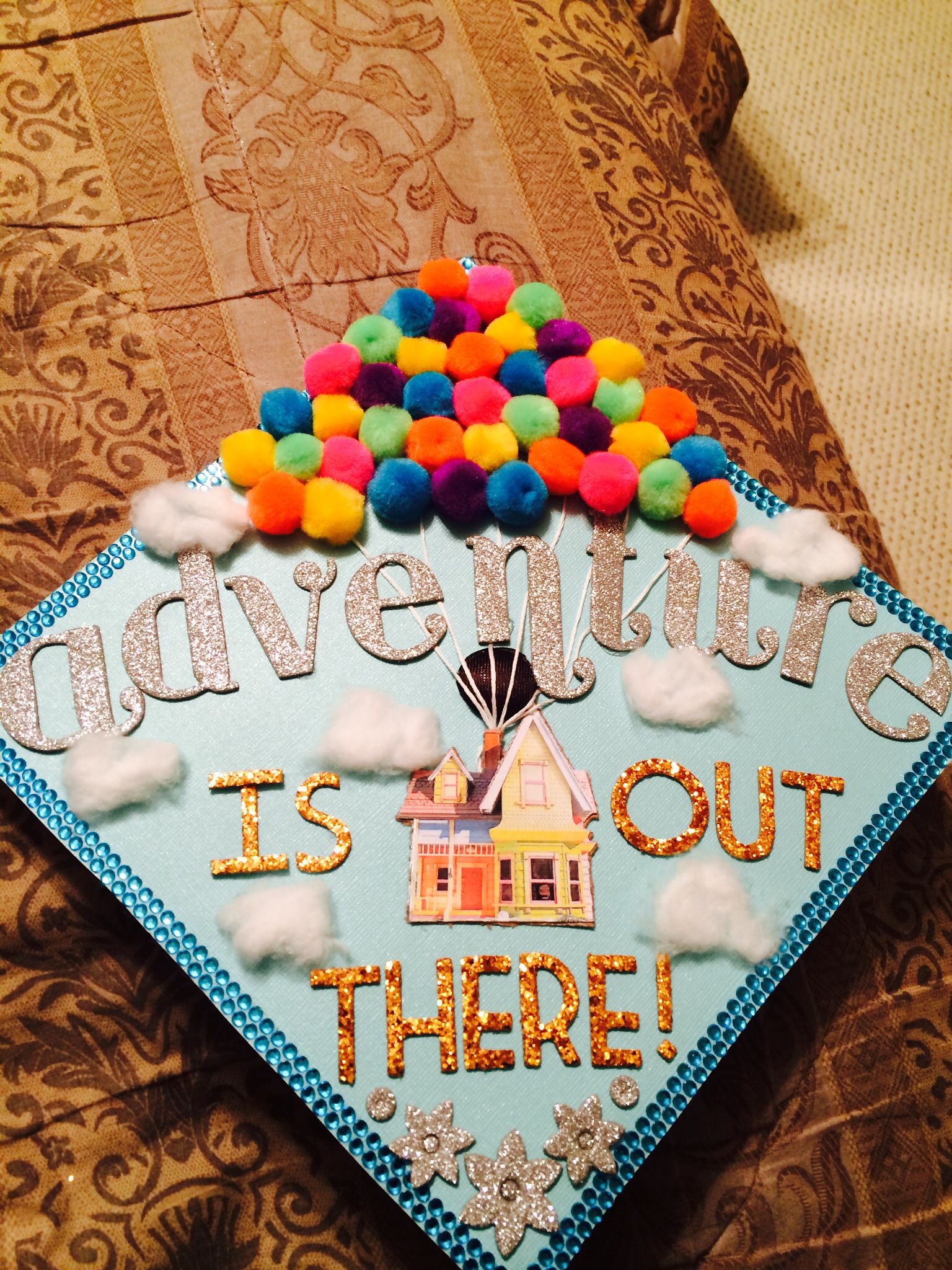 I Decorated My Graduation Cap Up Style College Graduation Cap Decoration Kindergarten Graduation Cap Graduation Cap Decoration