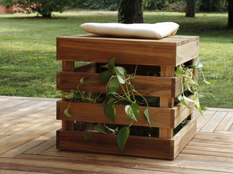Magnificent Wooden Garden Stool Seduta Porta Oggetti Turtle 01 By Unemploymentrelief Wooden Chair Designs For Living Room Unemploymentrelieforg