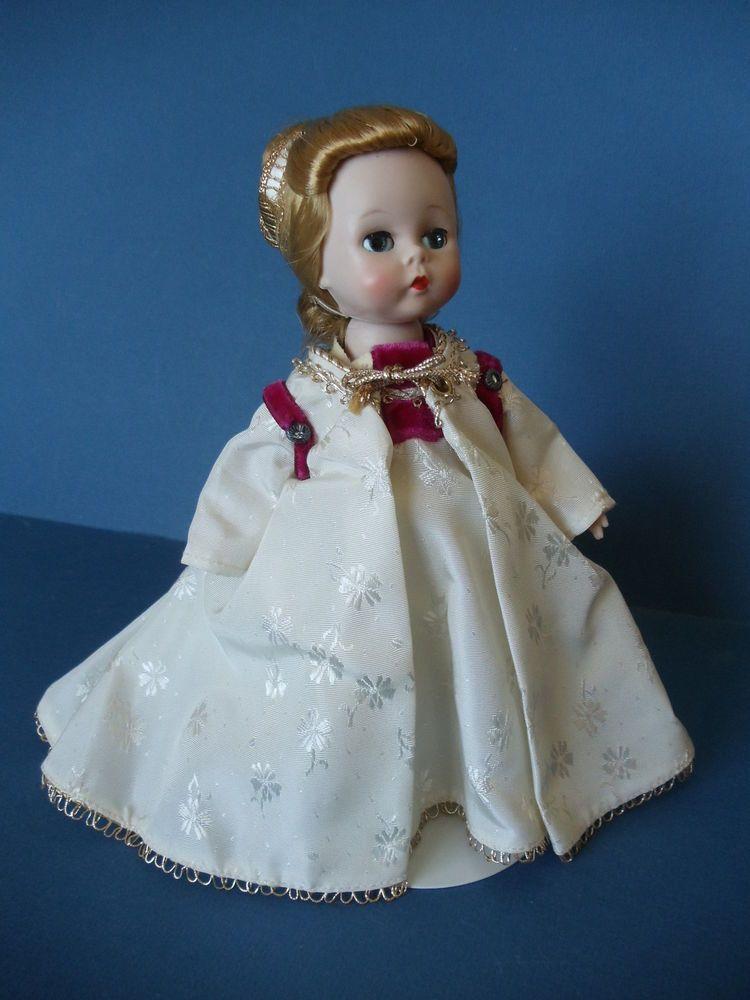 """Original Madame Alexander BLACK SLIP-ON SHOES ~ For 8/"""" Dolls ~ Excellent ~"""