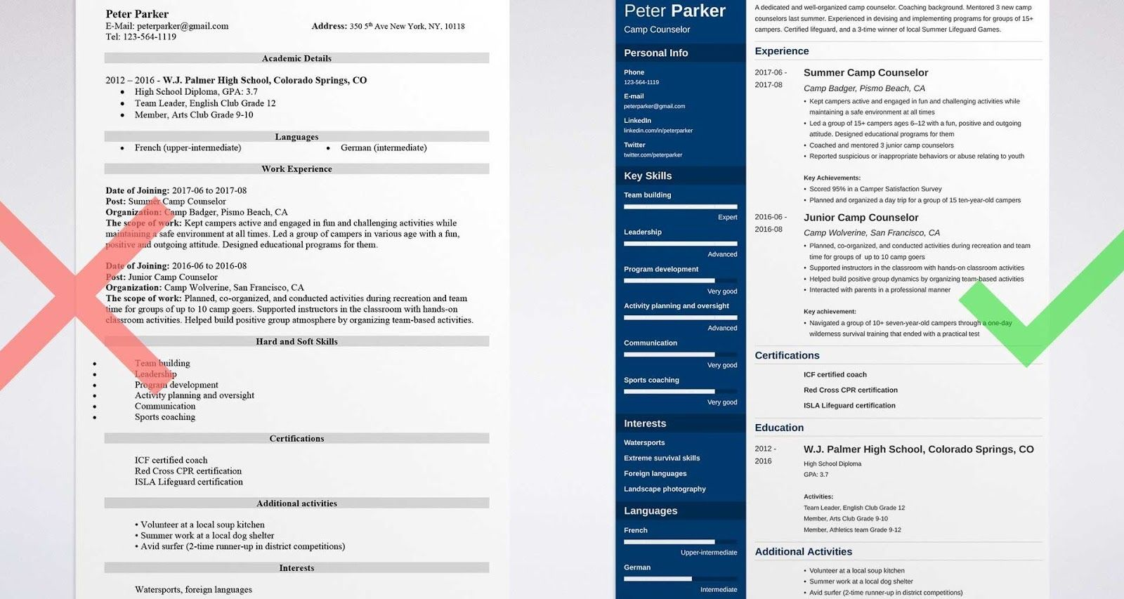 school counselor resume sample, school counselor resume