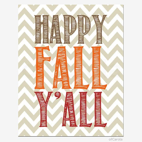 Items similar to Happy Fall Y'all Quote File Wall Art PRINT YOURSELF, INSTANT Download Thanksgiving Beige Brown Orange Red White Chevron Home Decor ofCarola on Etsy #happyfallyallwallpaper Happy Fall Y'all Quote File Wall Art PRINT YOURSELF by ofCarola, $6.00 #happyfallyallwallpaper