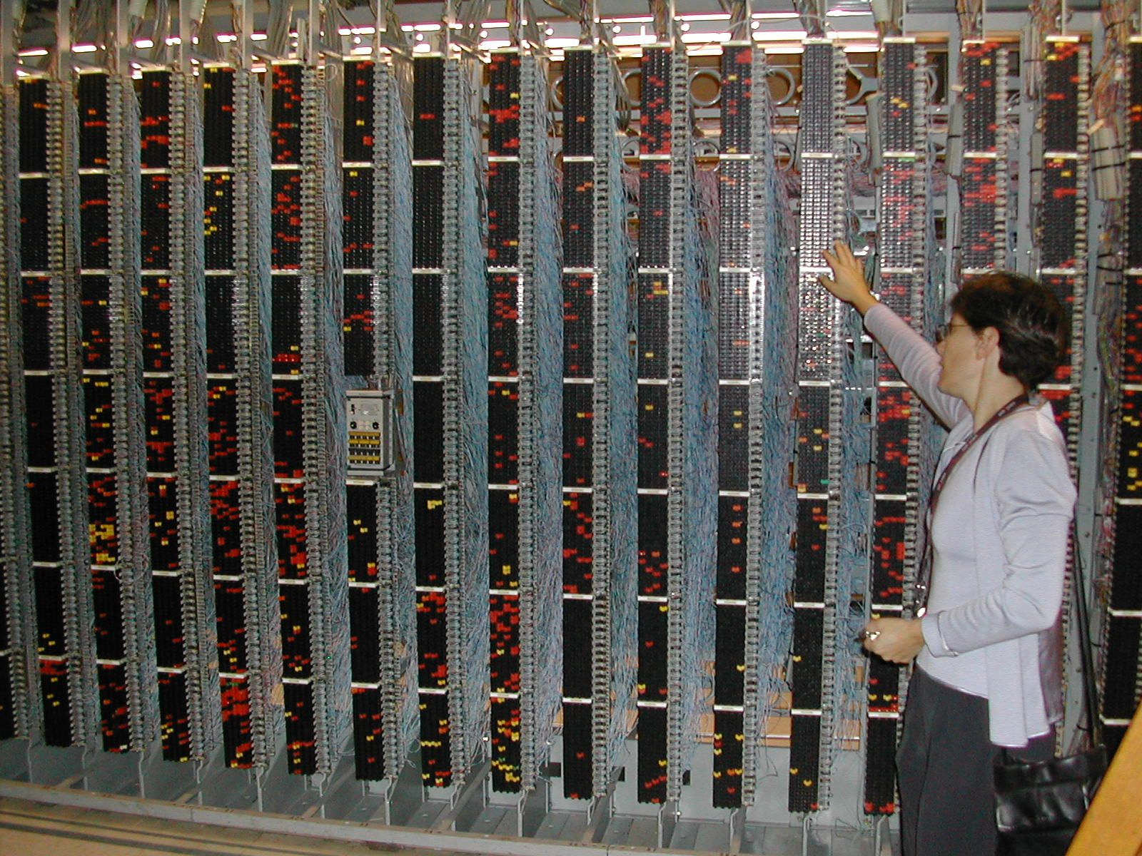 I Have Spent Many A Day On The Main Distribution Frame Mdf Which Telephone Wiring Junction Block Is Of Local Loop Pairs And Line Card Connections Terminate