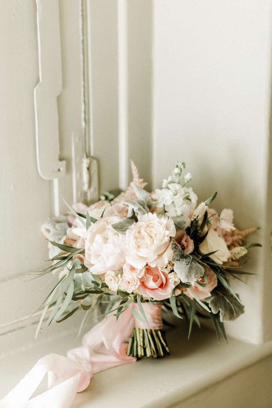 Peonies, stocks, roses and astilbe. Hand tied bouquet of dreams. Naomi Kenton Photography. Elmore Court Wedding Flowers #astilbebouquet