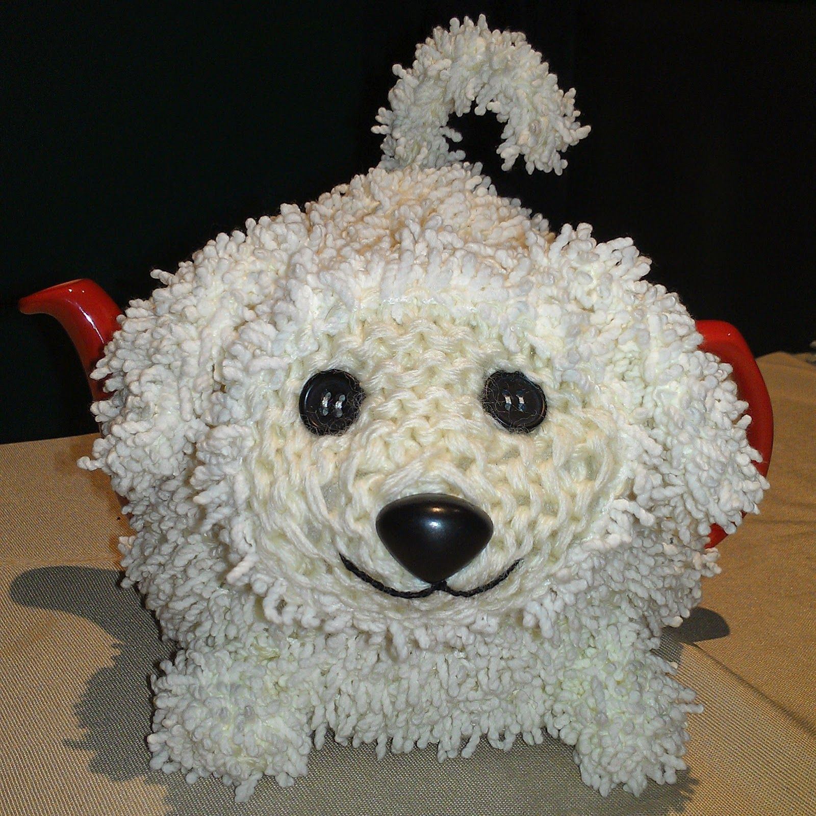 Craft a cure for cancer free tea cosy patterns: Animal tea cosies ...