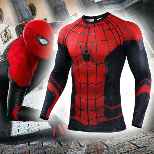 Avengers Endgame Spiderman Far From Home T-Shirts Cosplay 3D  Superhero T-Shirts