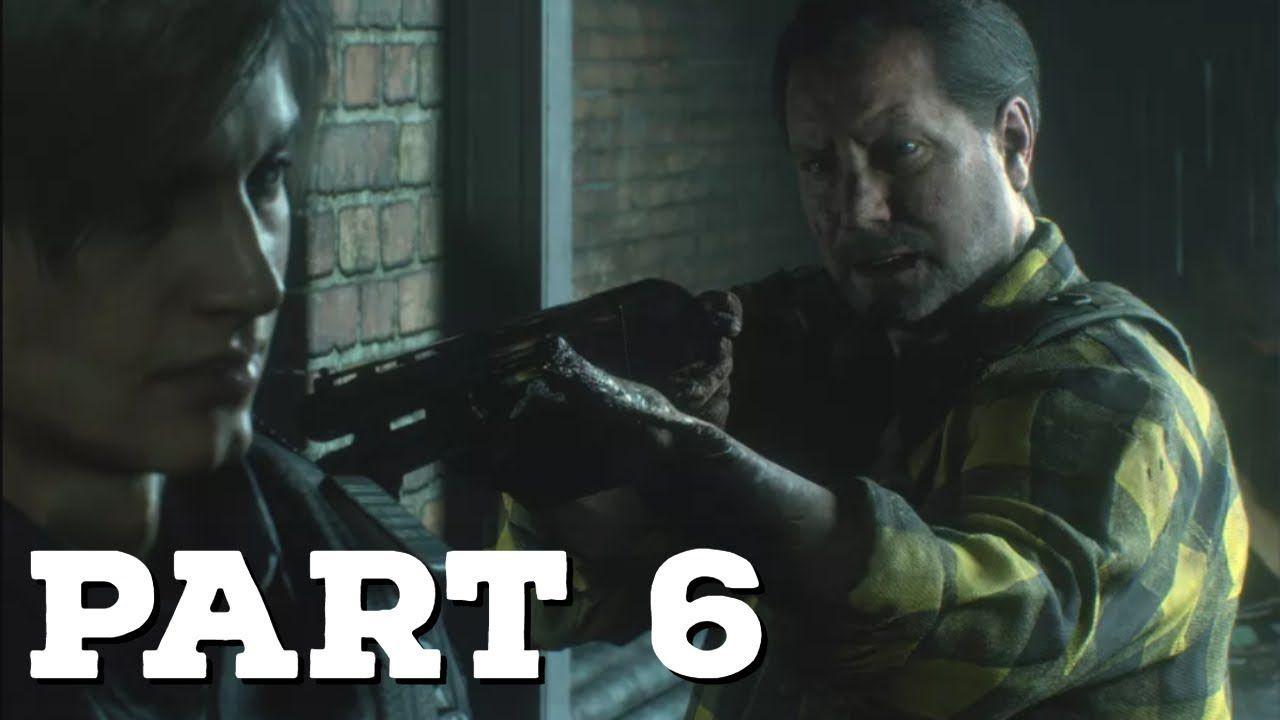 Resident Evil 2 Remake Re2 Gameplay Walkthrough Part 6 Emmie