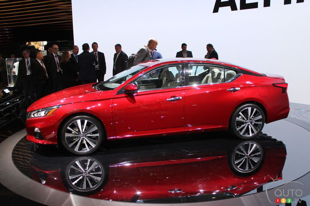 2019 Nissan Altima gets AWD, turbo