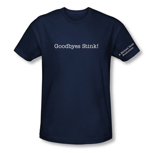 The Office Goodbyes Stink T Shirt My Style Pinterest T Shirt
