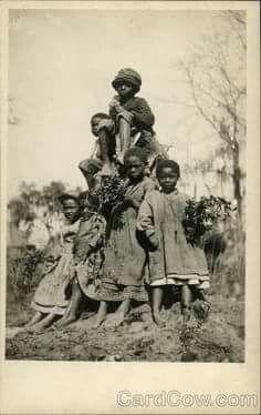 Sharecroppers children