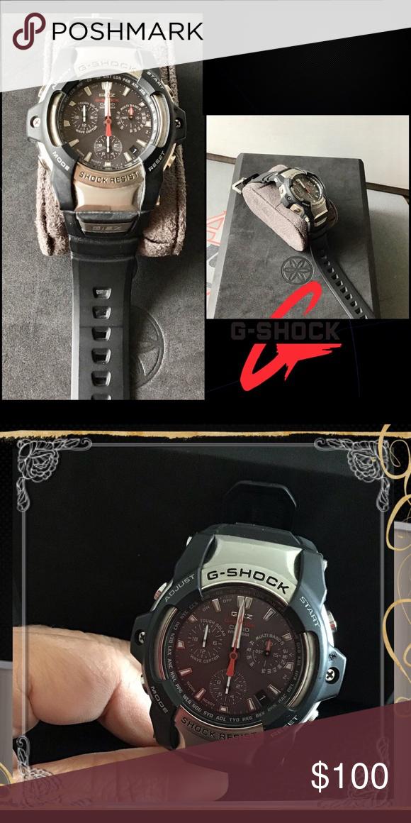 8bfc3bf1b044 Casio G-Shock GIEZ Multiband 6 Men's watch GS-1400-1AJF GIEZ Tough ...